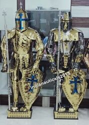 Medieval Knight Suit Of Armor Combat Full Body Armor Suit Warrior Cosplay Set 2