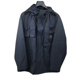 Dior Navy Technical Oversized Parka Jacket Size 50 - L Fits Xl Rrp Andpound2470