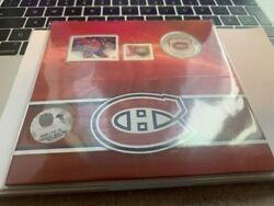 Nhl Andreg Coin And Stamp Gift Set - Montreal Canadiens Andreg And 6 Others Nhl Team2014