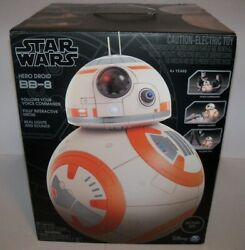 Retired Star Wars Bb-8 Astro Hero Droid Interactive Remote Control Rc Robot //