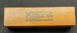 Vintage Jesse French And Sons 7-ply Pin Plank 75th Anniversary 1875-1950 Antique