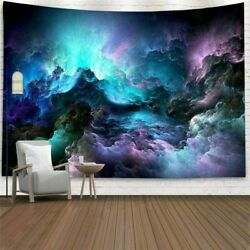 USA Starry Cloud Tapestry Wall Hanging Psychedlic Room Art Blanket Carpet Decor