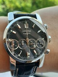 Eberhard And Co Watch 31041 Chrono 4 Chronograph Automatic Mens 40mm Swiss Made