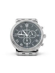 Man Wrist Watch Tradition Chronograph 117048 Swiss In Stainless Steel