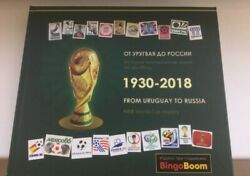 Encyclopedia Of Fifa World Cup 2018 Football Soccer, Exclusive Book, From Urugua
