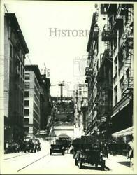 1910 Press Photo Booming Third and Hill Street looking west Los Angeles.