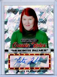 2020 Leaf Pop Century Kate Flannery Classic Roles Auto 5/10 The Office