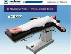 Surgical Hydraulic Up And Down C-arm Compatible Ot Table Operation Theater Table