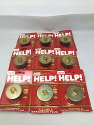 Lot Of 9 Dorman/help Flexible Rubber Expansion Plugs 1 5/8andrdquo