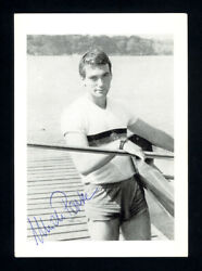 1983 Ulrich Papke Rookie Card Autographed Signed Olympic World Gold Medalist X 4
