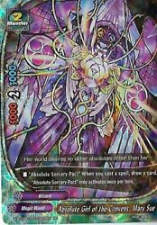 Buddyfight 1x X-bt04a-ss03/0009en - Rr - Absolute Girl Of The Convent Mary Sue