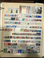 Large Accumulation Of East Germany Ddr On Stock Pages 4 Cents Per Stamp