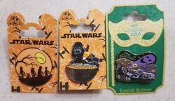 Disney Pin Star Wars Trick Or Treat Darth Vader Candy Corn Halloween Party 2016