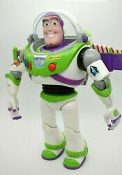 Buzz Lightyear Toy Story Thinkway Toys Disney Pixar Action Figure Toy 12 Works