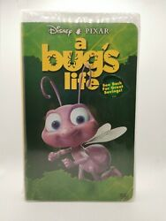 Bugs Life Vhs Video Tape Cassette Clamshell Case New Sealed Vintage Rare Tblo