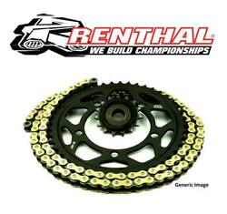 Ducati 1099 Steetfighter 09-13 Renthal R4 Gold X-ring Chain And Jt Quiet Sprockets