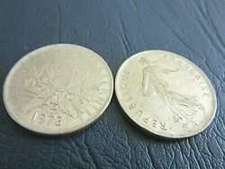 France Coins-republique Francaise - 5 Francs - Year 1973 -priced For One ..z3