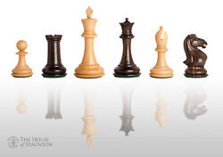 The Hastings Luxury Chess Set - Pieces Only - 4.0 King - Tasmanian Blackwood