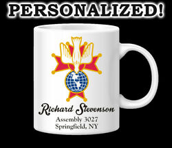 Knights Of Columbus 4th Degree Fraternal Koc Coffee Mug Gift Personalized