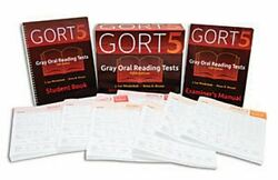 Gort-5 Gray Oral Reading Tests-fifth Edition Complete Kit J. Lee Wiederholt Andbull