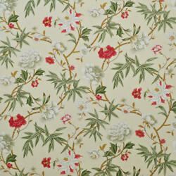 Q2 Clarence House Vieux Canton Floral Cotton Print Multipurpose Fabric 10 Yards