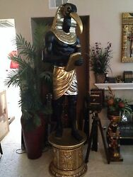 Egyptain Life Size Statue..god Thoth...8ft Tall