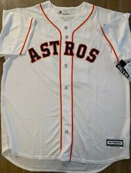Jose Altuve Houston Astros Majestic Big And Tall Cool Base Jersey White Size Xlt