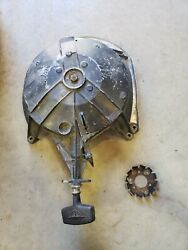 1957 Evinrude Recoil Pull Starter Unit And Ratchet For 35 Hp Motor