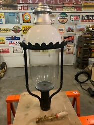 Pair Of Welsbach Boulevard Street Antique Ornate Victorian Vintage Light Lamp