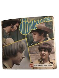 Gaf B493 The Monkees Tv Show Davy Peter Mike Micky View-master Reels Packet