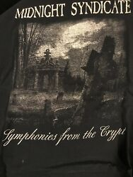 Midnight Syndicate From The Crypt Promo Shirt Size Xl Satanic Death Metal