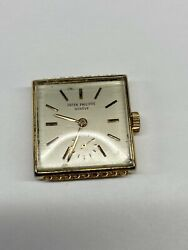 Patek Philippe 10-200 Movement And Dial Great Working Condition
