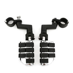 1-1/4 Highway Foot Pegs Mount Pedal For Harley-davidson Road King 1994-2015 Cvo