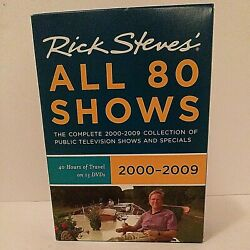 Rick Steveand039s All 80 Shows Complete 2000-2009 Dvd Collection Pbs Specials B12