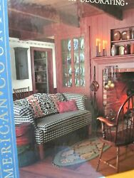 1988 Country Decorating American Country By Time-life Books Hard Cover