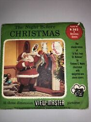 1962 View-master Reel The Night Before Christmas B 382