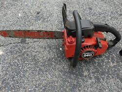 Homelite Model 240 Chainsaw 16 Bar No Chain For Parts