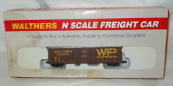 Nos Walthers N Scale Western Pacific Exterior Post Box Car 932-8805 F3
