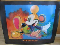 The Art Of Disney Dancing Mickey Print By Eric Robison