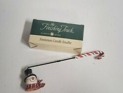 Snowman Candle Snuffer American Greetings Finishing Touch Christmas
