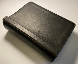 Vintage Holy Bible, Rare Loose Leaf Students Edition, References, Large Heavy