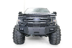 Fab Fours New Premium Winch Front Bumper W/ Pre Runner For 17-20 F-250 / F-350