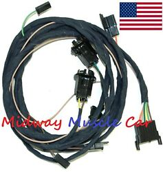 Rear Body Tail Light Wiring Harness 66 67 Oldsmobile Olds Cutlass F-85 442 Coupe