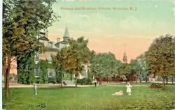 A View Of The Primary And Grammar Schools Montclair New Jersey Nj