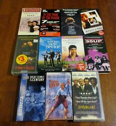 Lot Of 11 Vhs Tapes Crime/drama/thriller 1990's