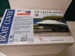 Boat Cover - Trailerable By Carver Industries Ccf-21 Sun-dura