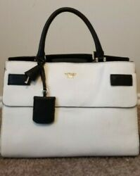 Guess White and black Satchel $45.99