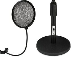 Neumann Ps 20 A Pop Screen + On-stage Stands Ds7200b Value Bundle