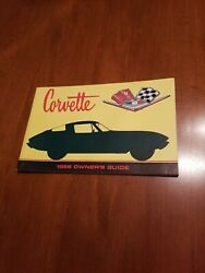 1966 Corvette Factory Gm Owners Manual First Edition Part 3879852 W/ 1/2 Card