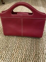 Fossil Red Clutch Or Crossbody Womens Bag $34.32